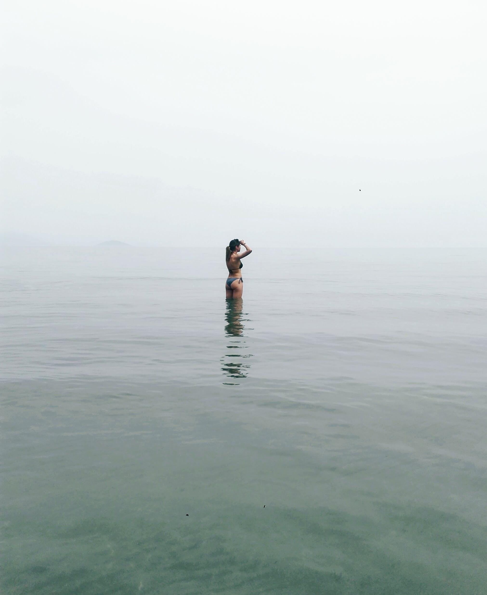 Základová fotografie zdarma na téma bikini, krajina, léto, moře