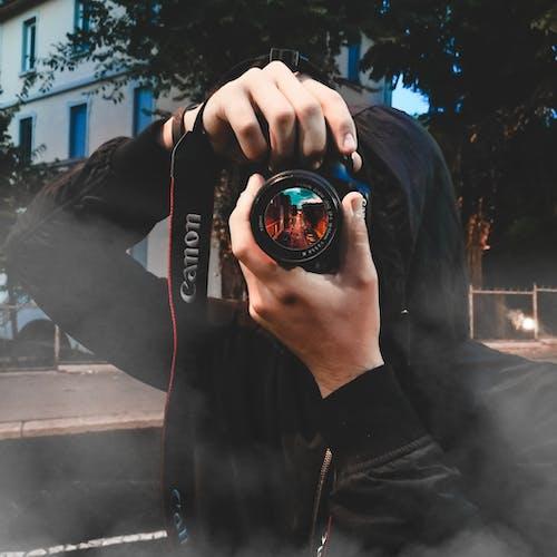 Fotos de stock gratuitas de calle, cámara, Canon, caza
