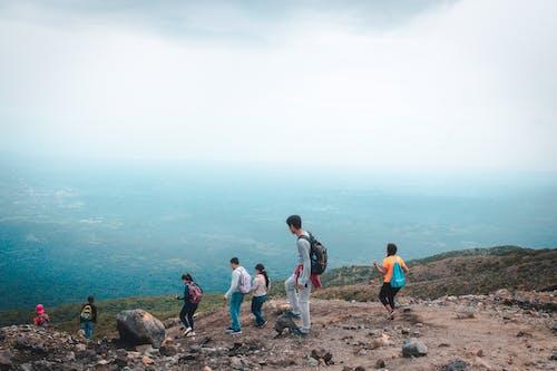 山, 景觀, 步行 的 免费素材照片
