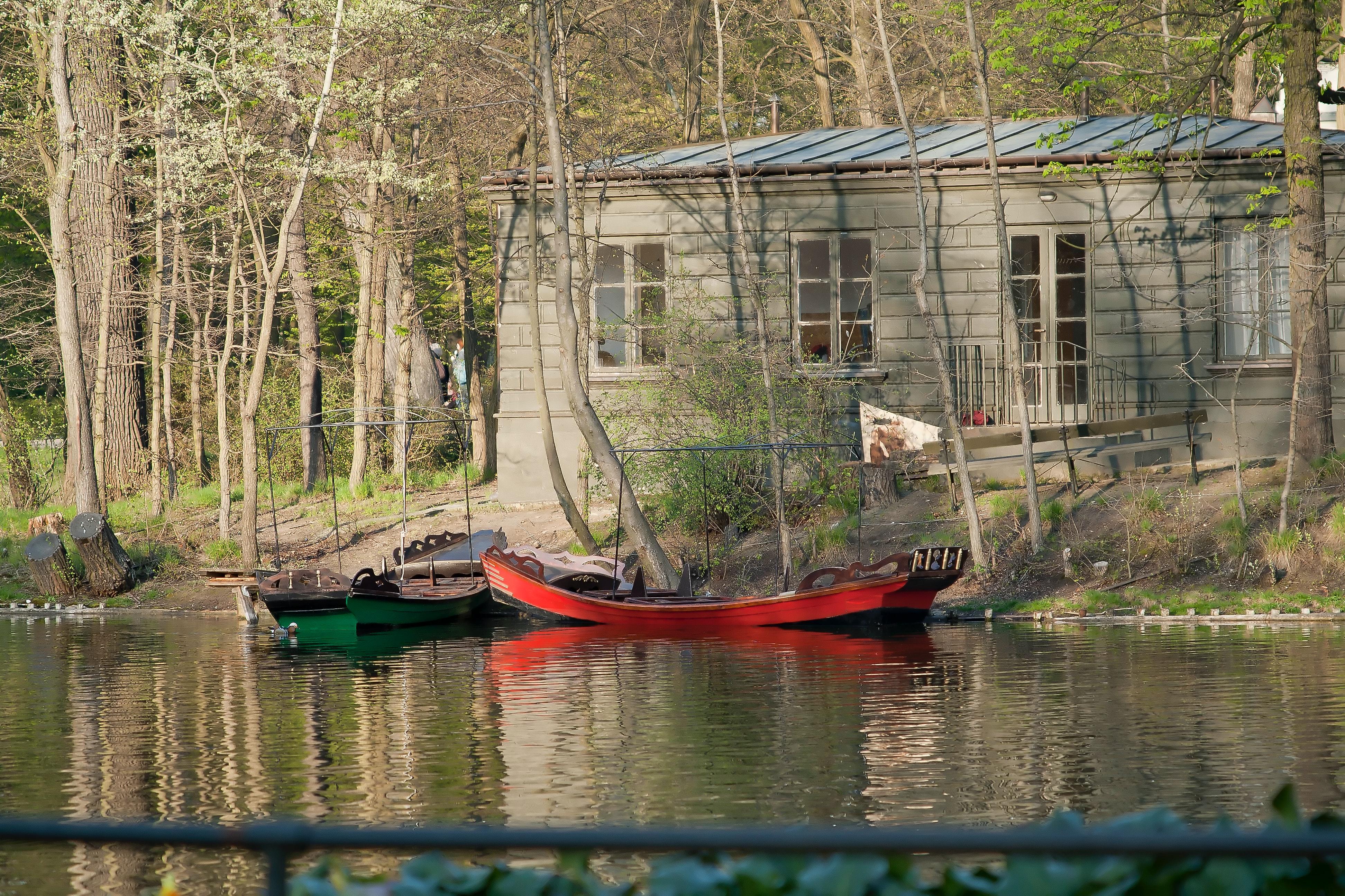 Free Stock Photo Of Boats Lazienki Royal Park Park