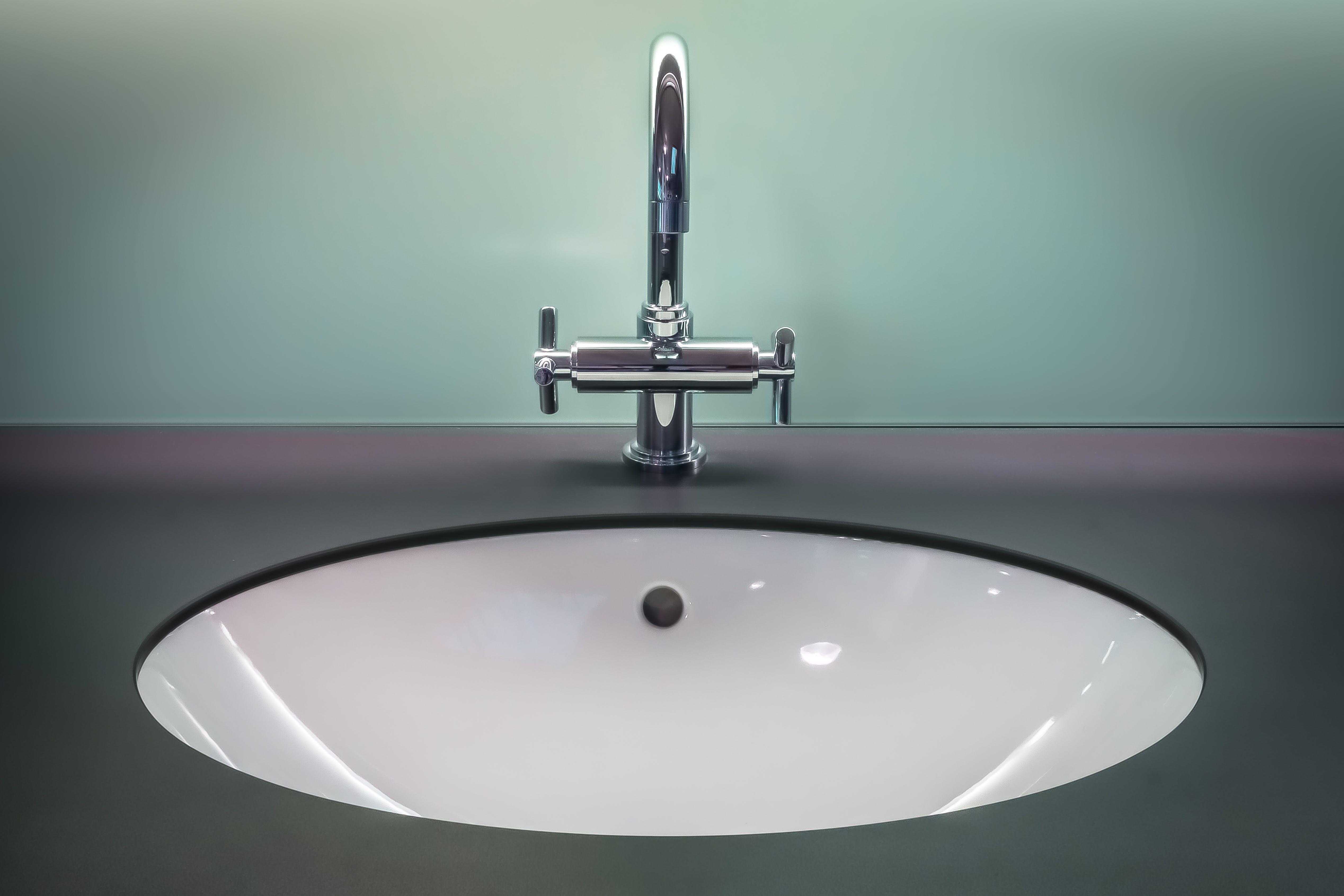 badeværelse, forfængelighed top, håndvask