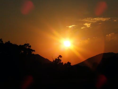Gratis lagerfoto af natur, solnedgang
