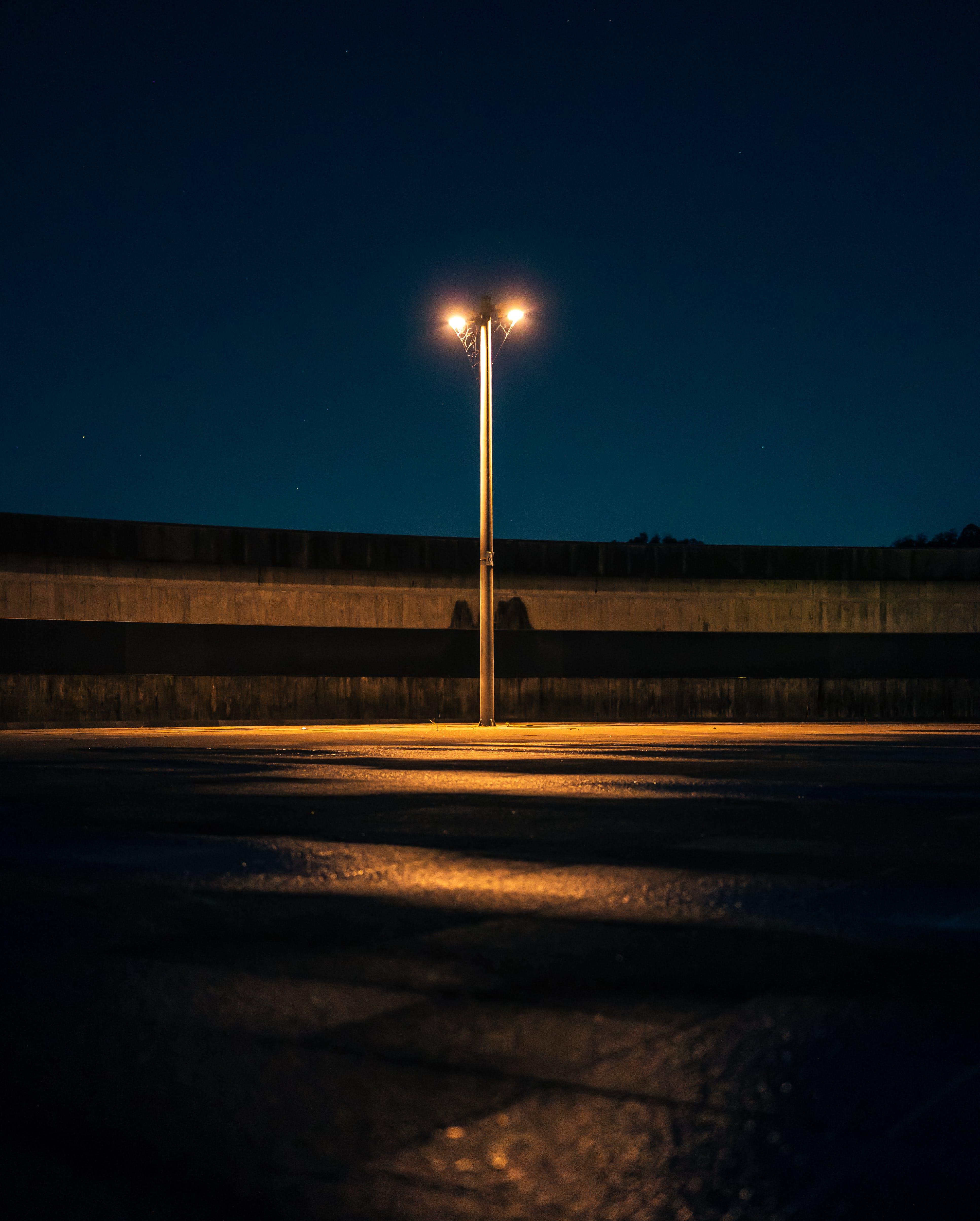 Street Light during Nighttime