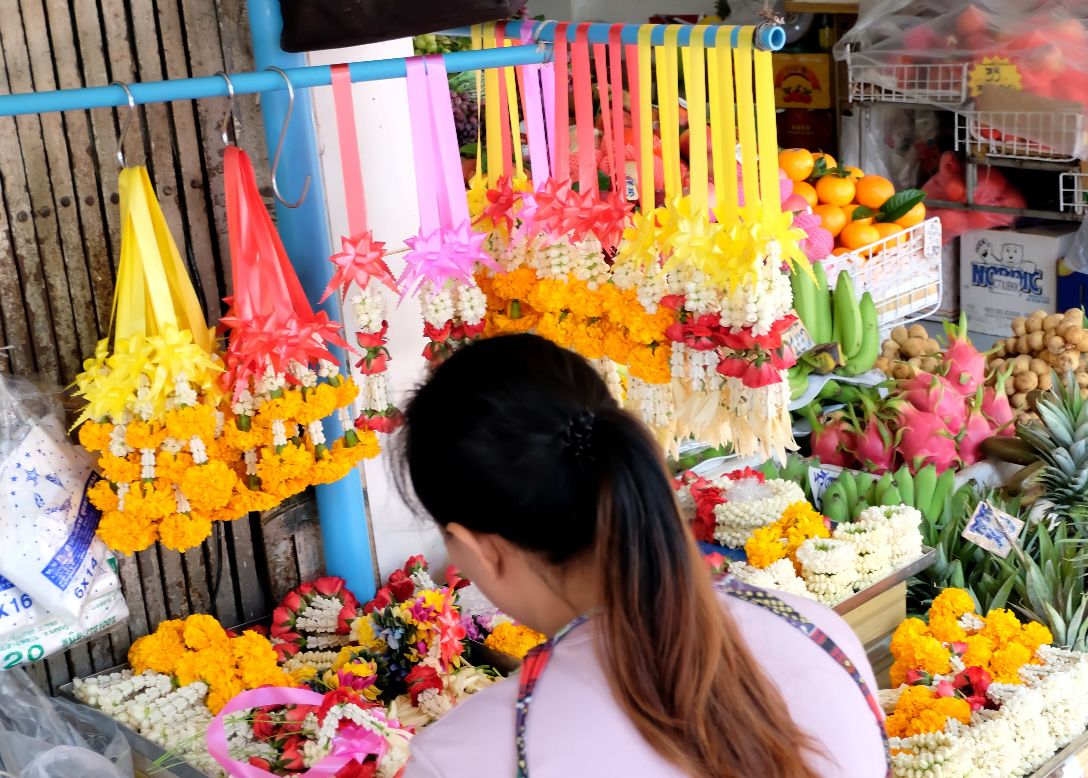 Free stock photo of Bangkok, beautiful flowers, flowers, offering