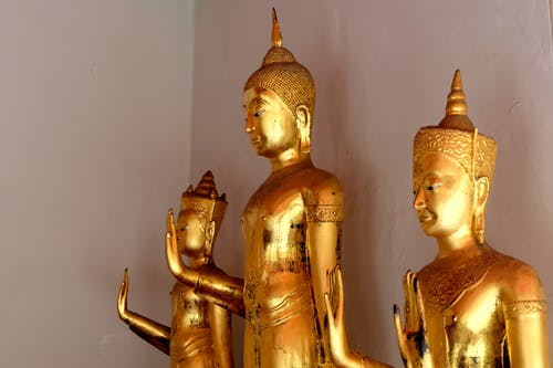 Free stock photo of buddha, golden, statue, temple
