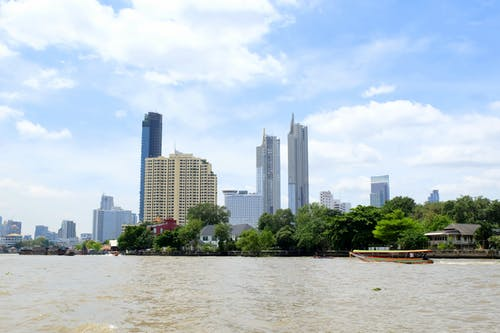 Free stock photo of Bangkok, buildings, chao phraya, skyscrapers