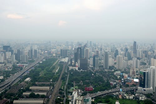 Free stock photo of aerial, Bangkok, buildings, city