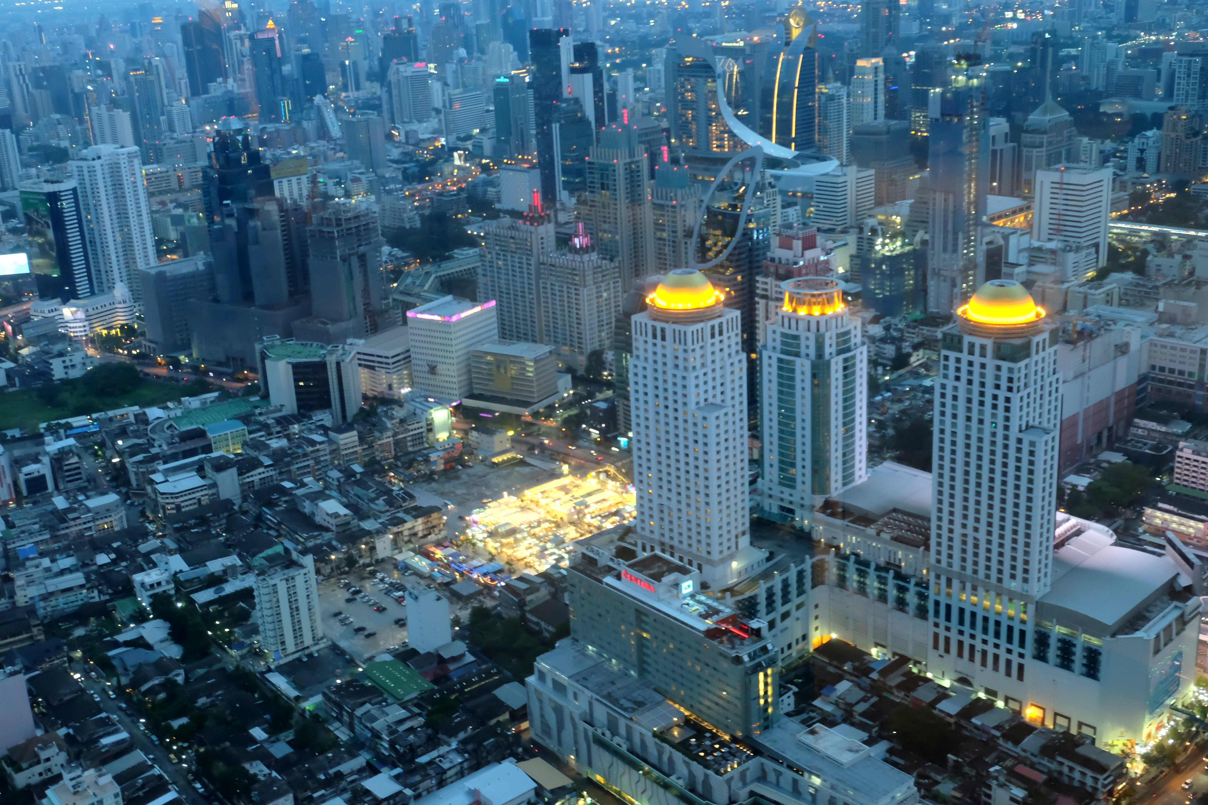 Free stock photo of aerial photography, aerial view, Bangkok, buildings
