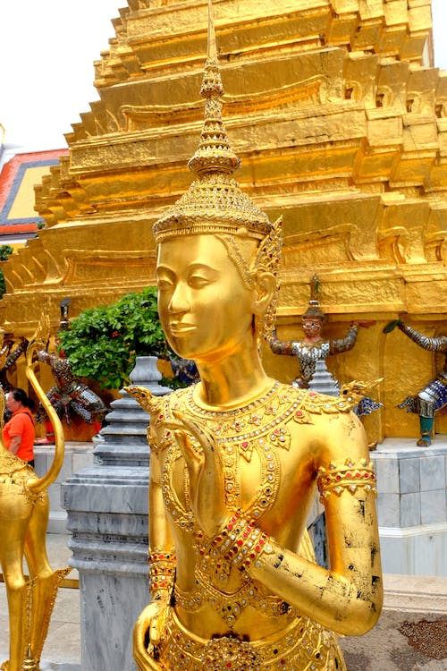 Free stock photo of buddha, gold, golden, statue