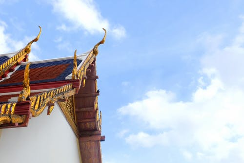 Free stock photo of blue sky, temple, thailand