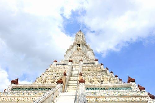Free stock photo of blue sky, Buddhism, sky, temple