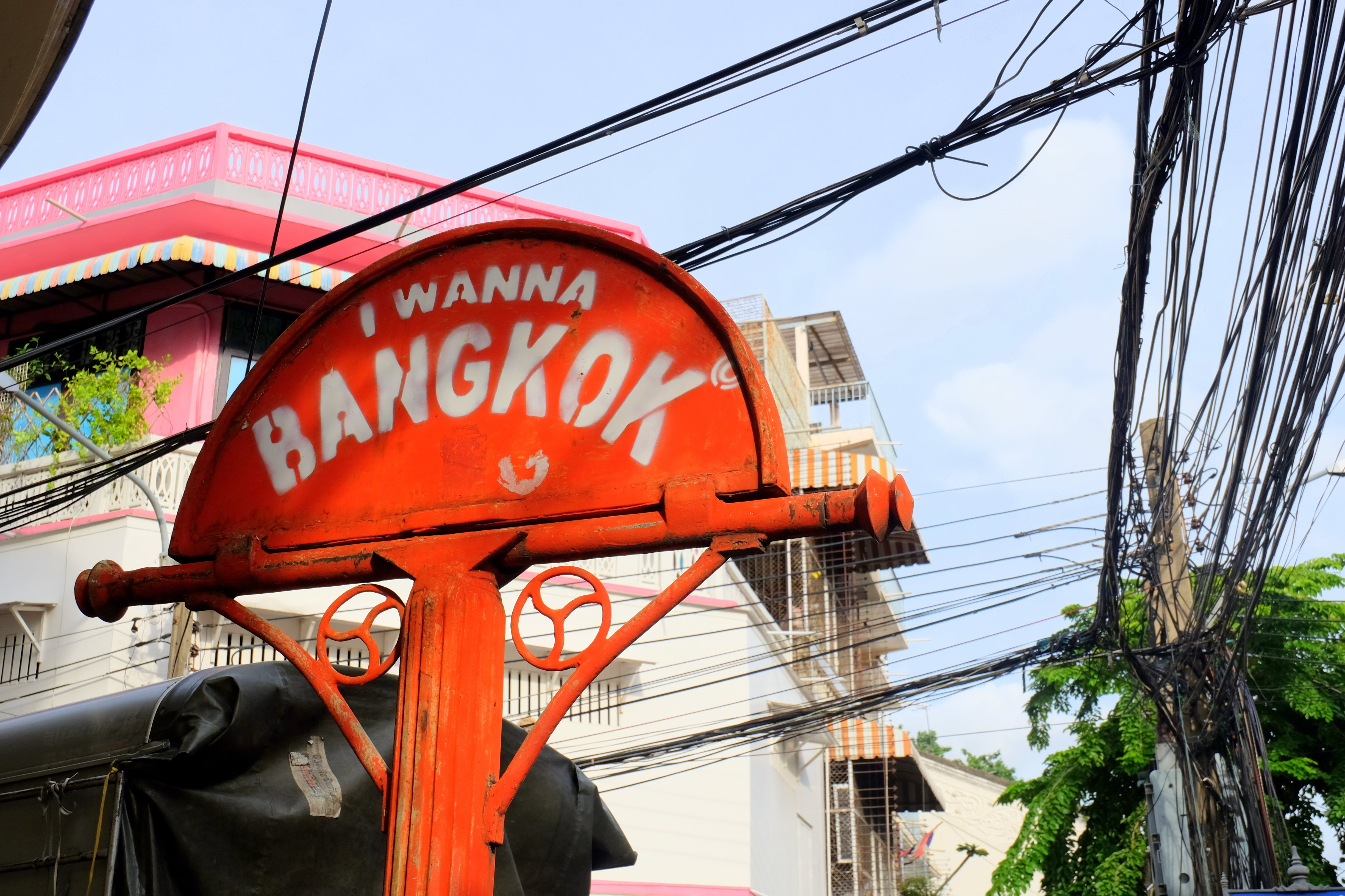Free stock photo of Bangkok, chinatown, red, sign