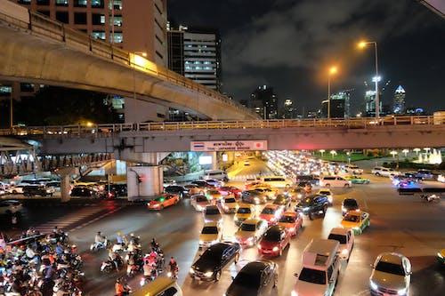 Free stock photo of Bangkok, busy, night, street