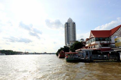 Free stock photo of Bangkok, boats, chao phraya, cruise