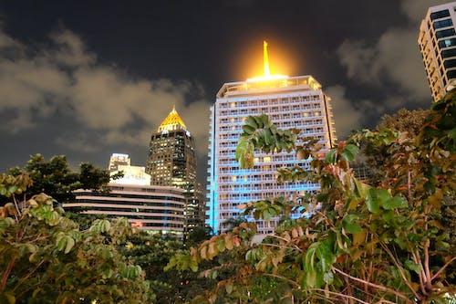 Free stock photo of Bangkok, buildins, city, lights