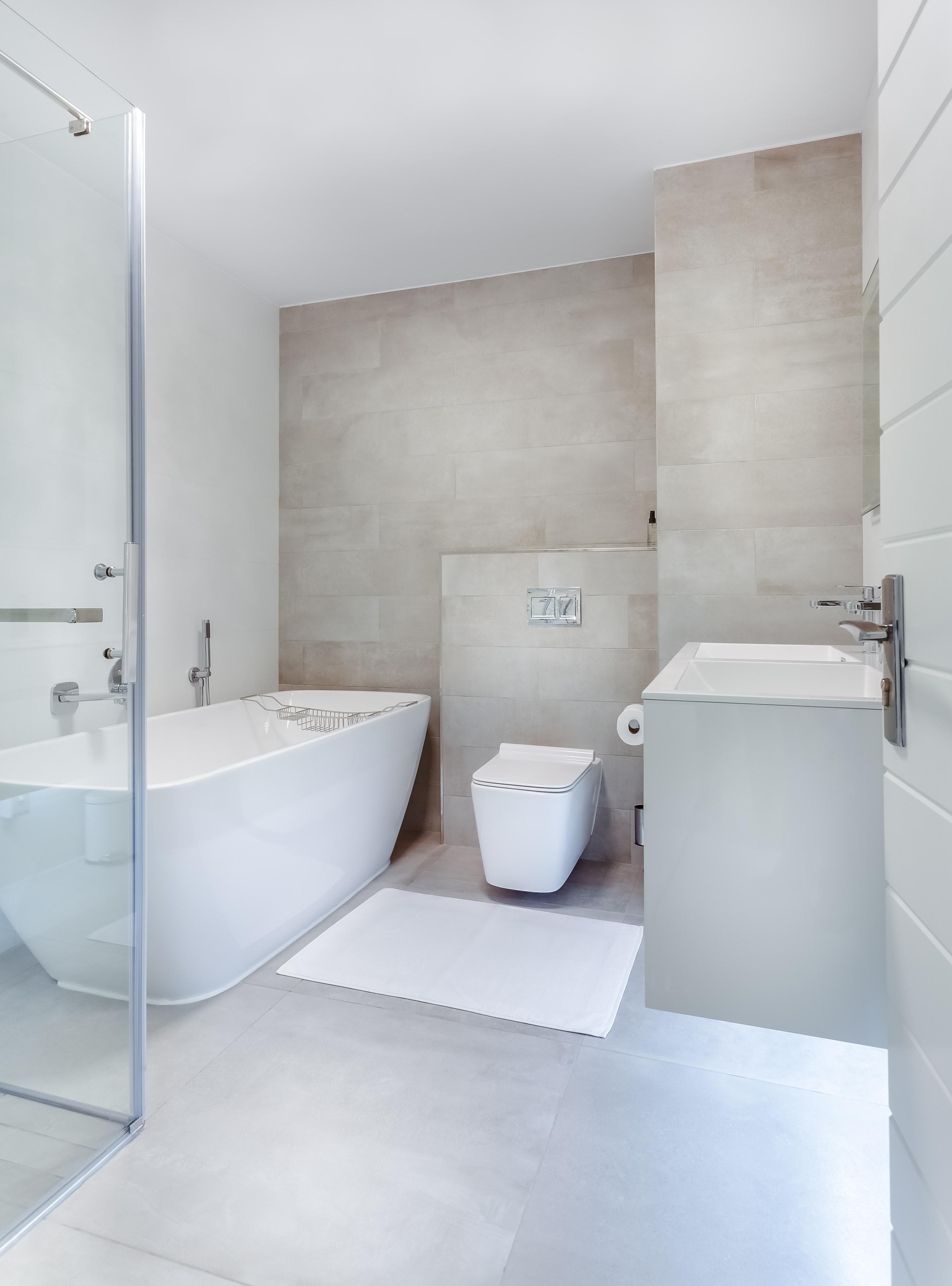 Kostenloses Foto zum Thema: badewanne, badezimmer, boden