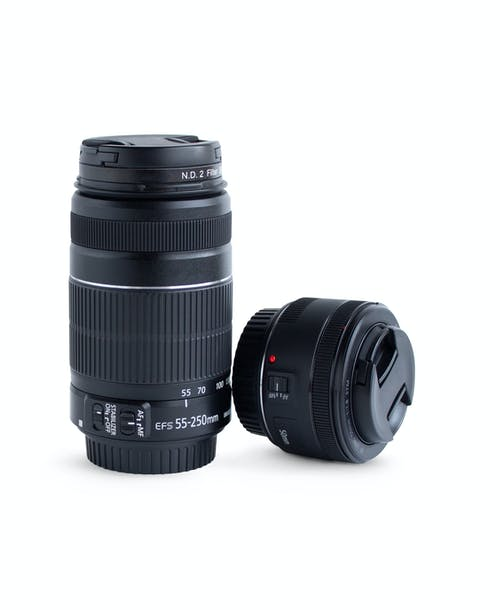 Free stock photo of camera lens, camera lenses, dslr camera lens