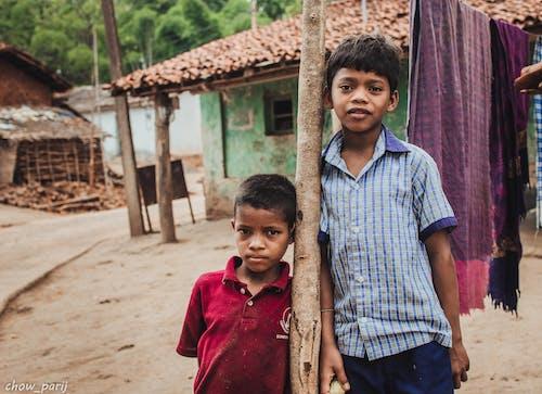 Immagine gratuita di amici, bambino, dell'odisha, india