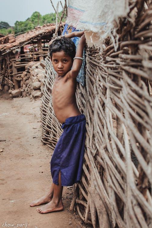 Immagine gratuita di bambino, community, india, io