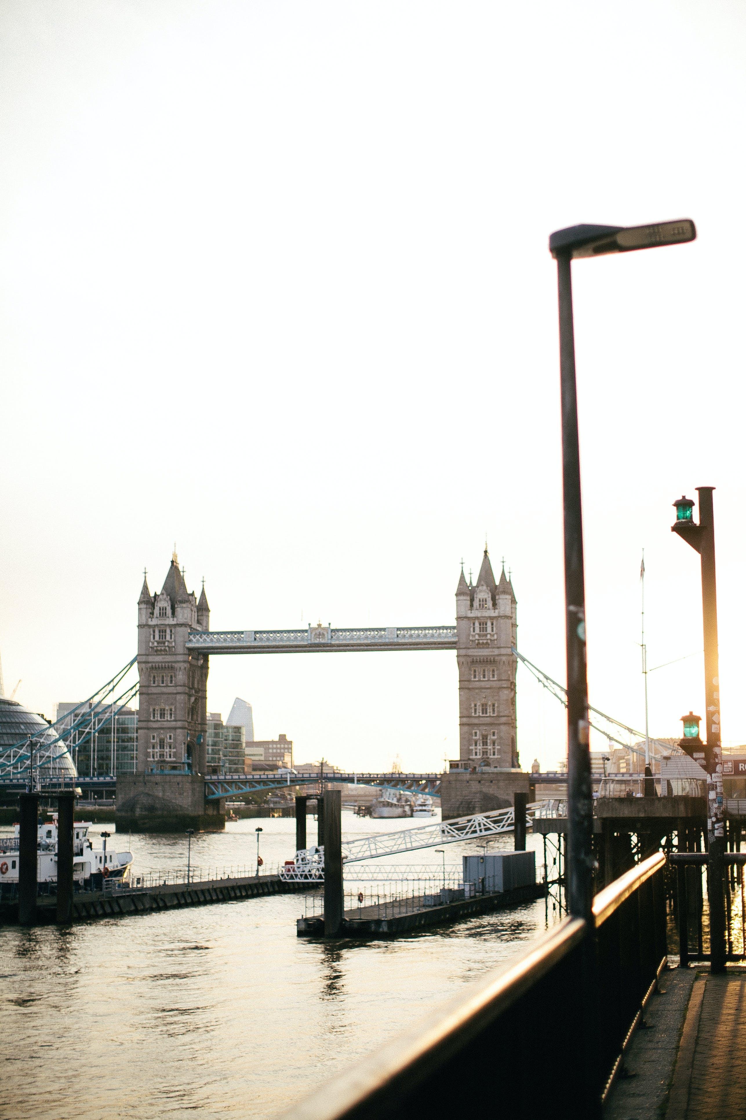 Free stock photo of light, city, water, street