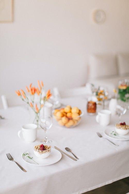 꽃, 레스토랑, 방, 술을 마시다의 무료 스톡 사진