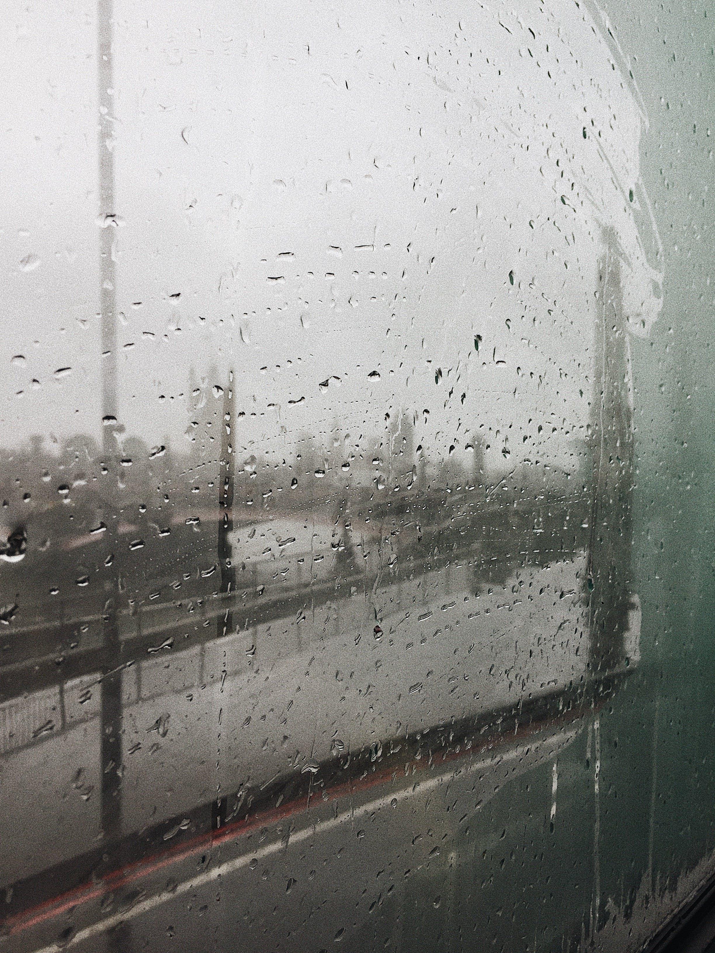 Foggy Glass Window