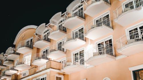 건축, 건축 설계, 도시의, 로앵글 촬영의 무료 스톡 사진