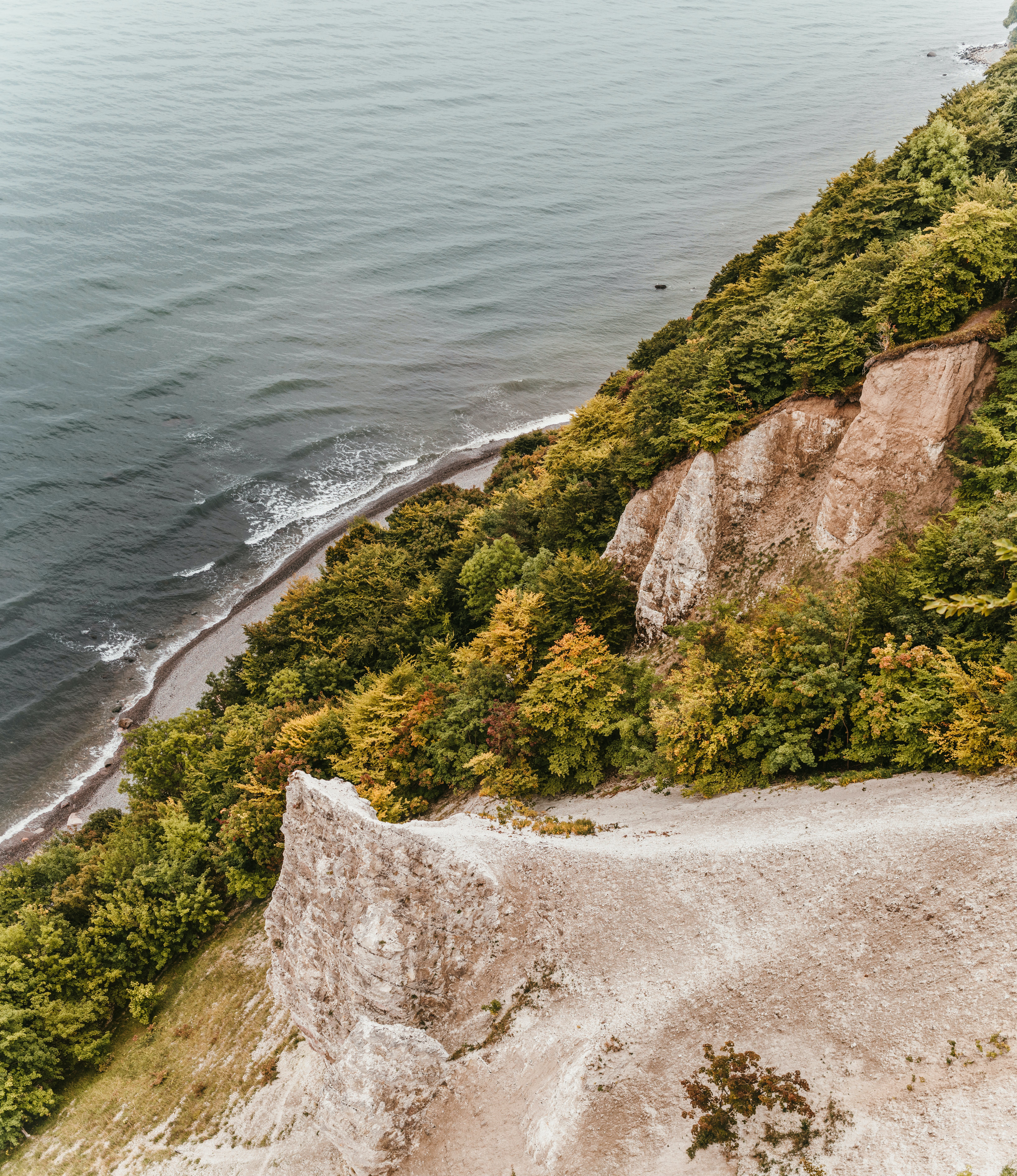 Cliff Near Seashore