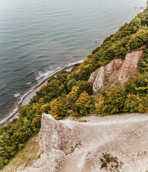 Cliff Near Seashore