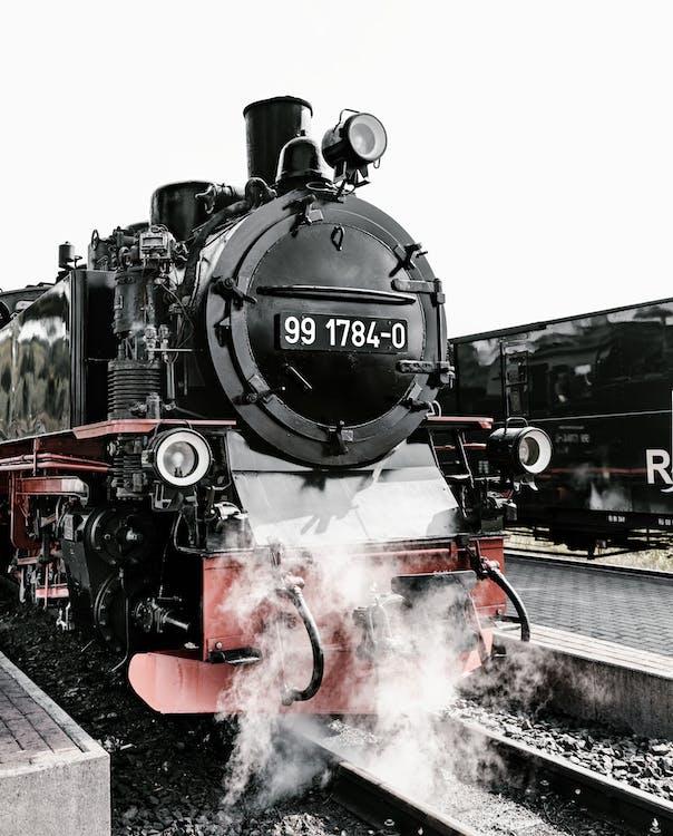 baja, besi, jalan kereta api