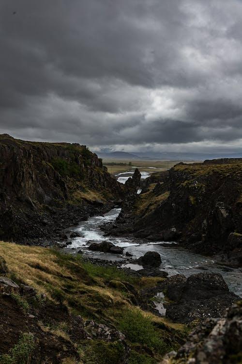 River in Between Cliffs