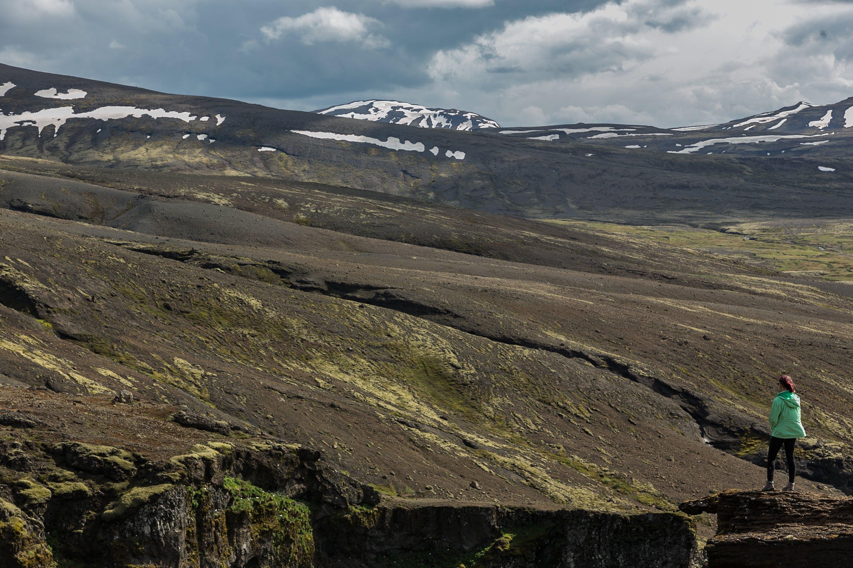 コールド, 女性, 山岳, 岩の無料の写真素材