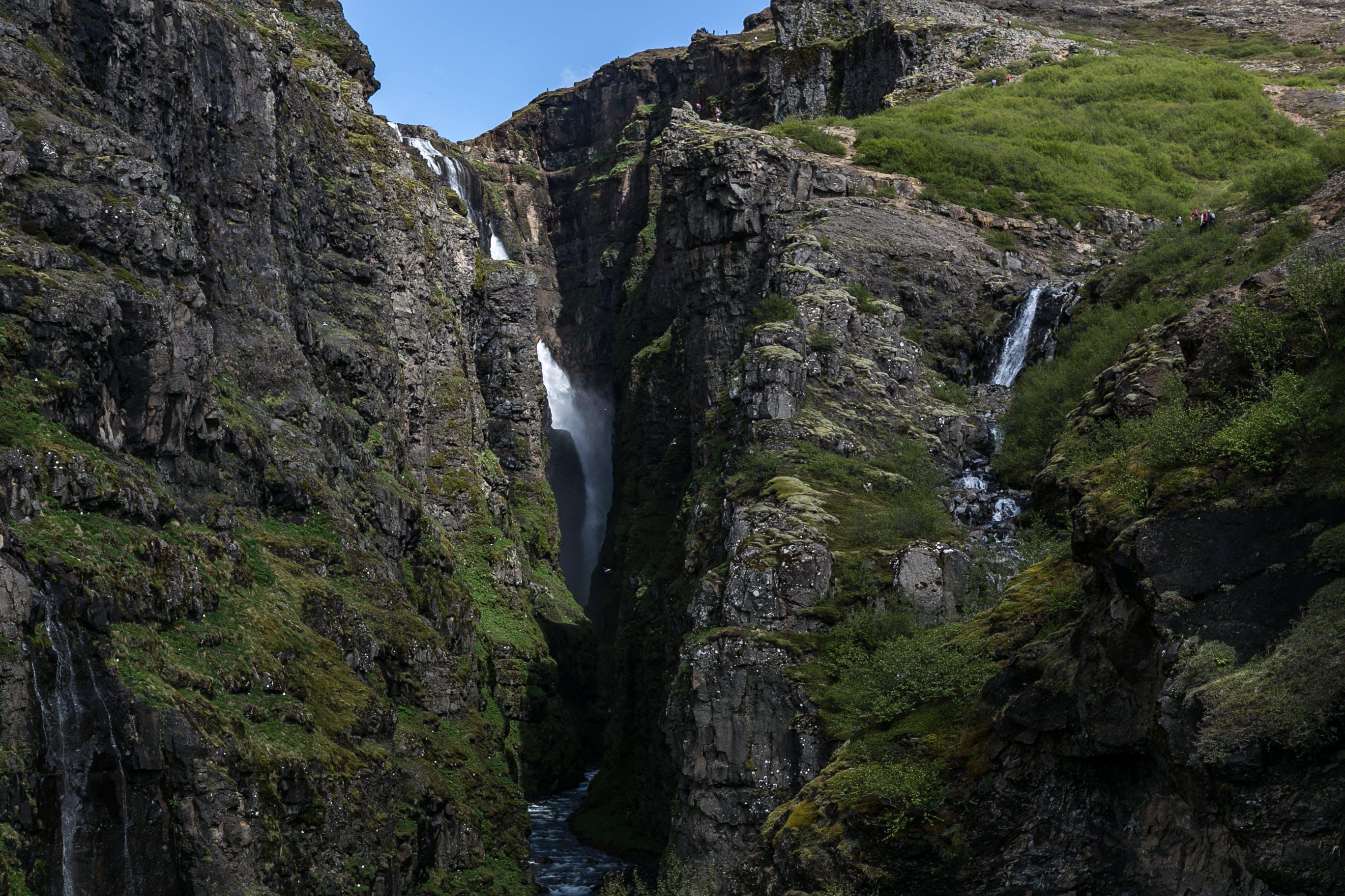 Foto stok gratis air, air terjun, alam, batu