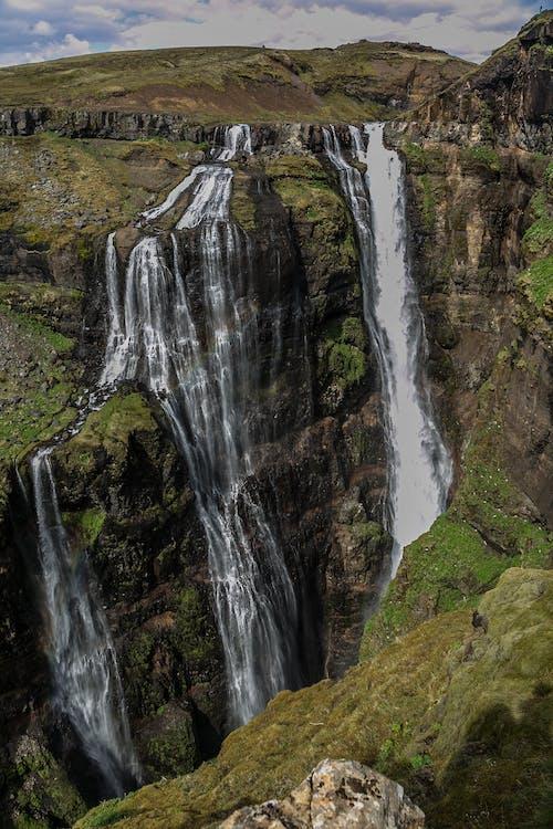 瀑布自然攝影