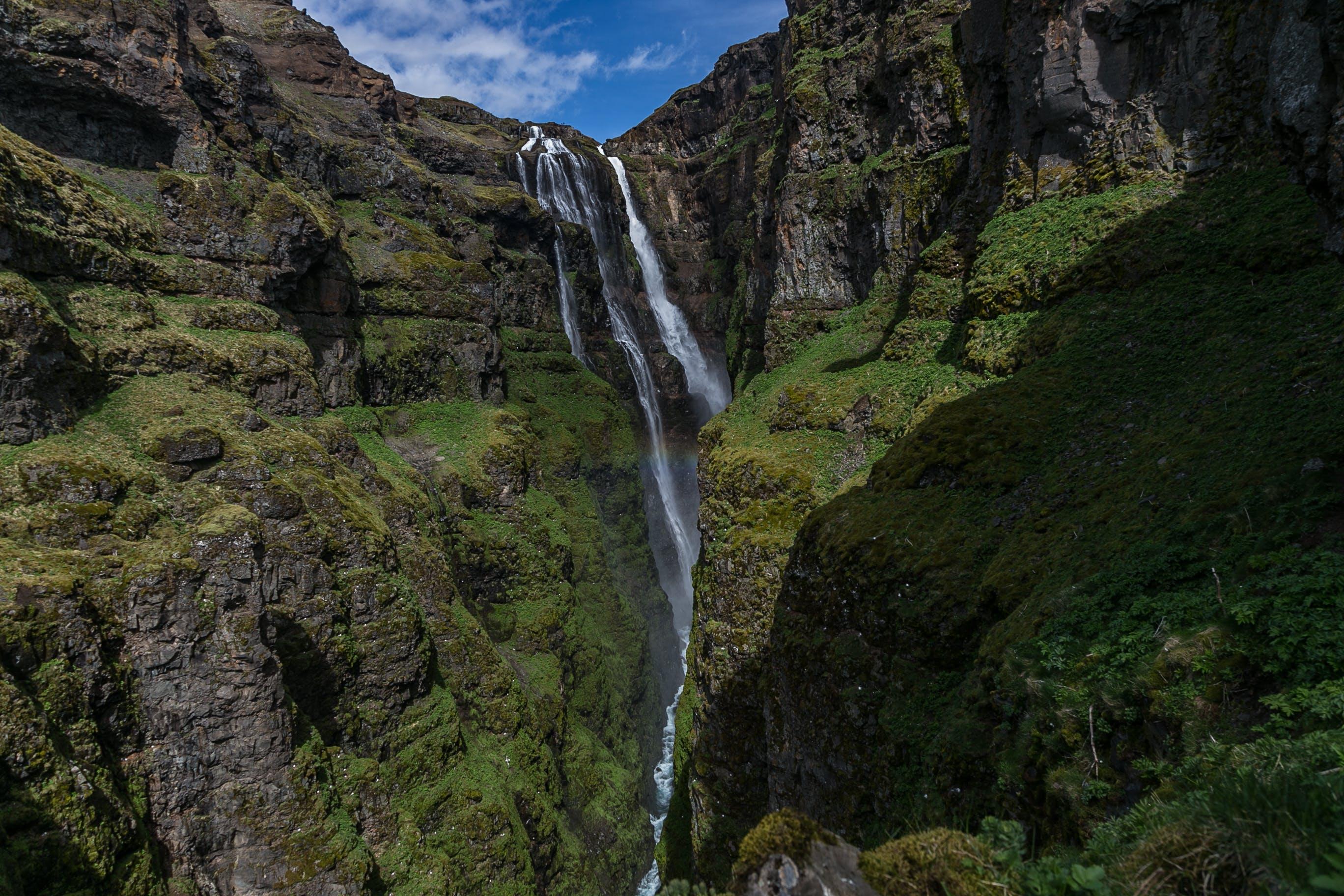 Gratis lagerfoto af bjerge, dagslys, flow, græs