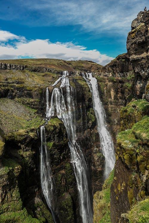 天性, 摇滚, 景觀, 水 的 免费素材照片