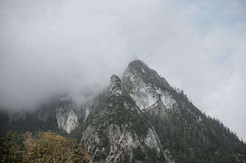Mountain Surrounded by Fog