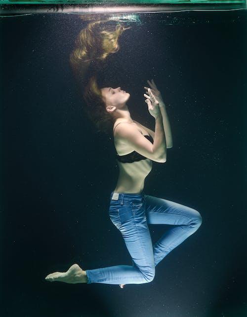 Fotobanka sbezplatnými fotkami na tému človek, krása, krásny, pod vodou