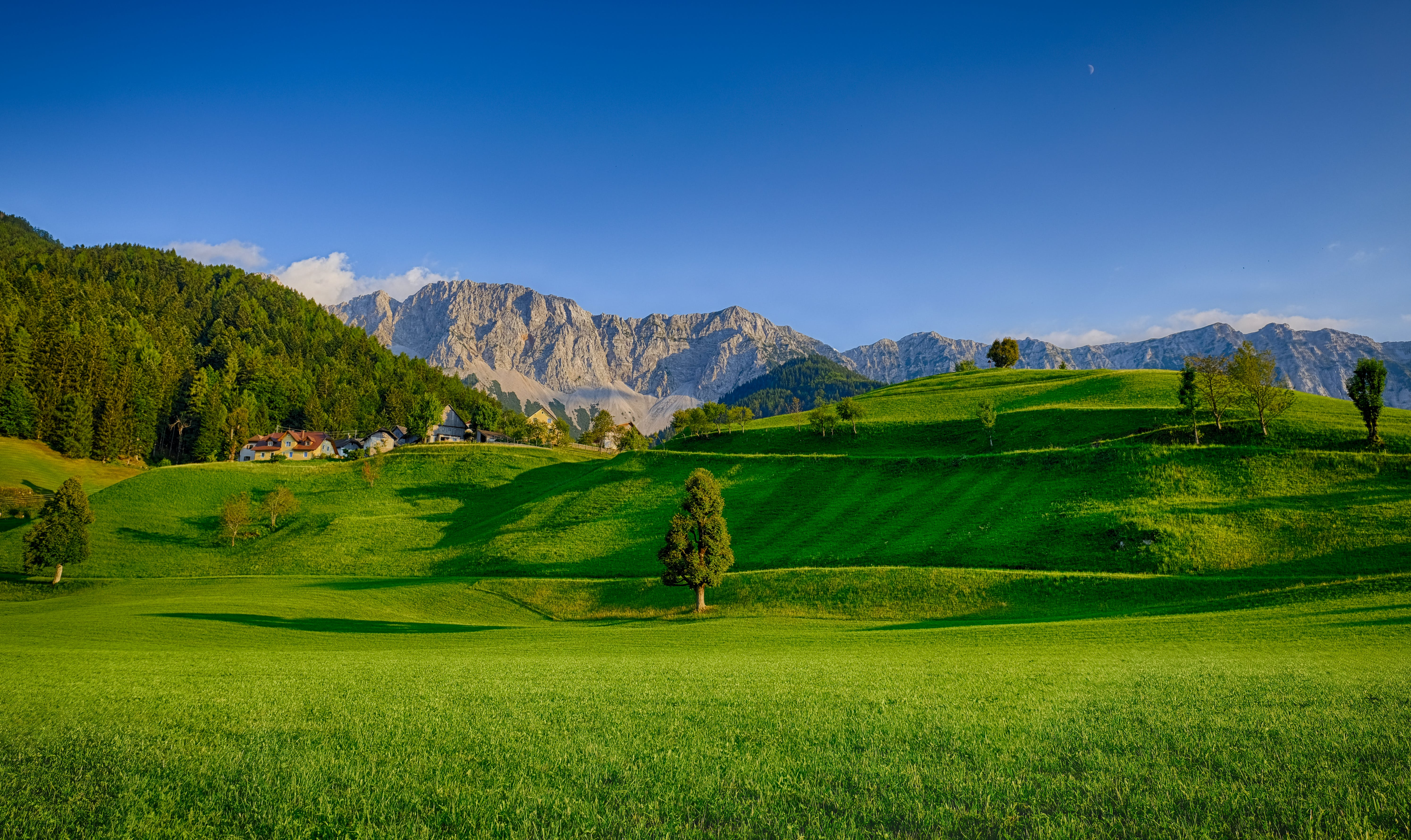 Landscape Photography Of Green Grass Field