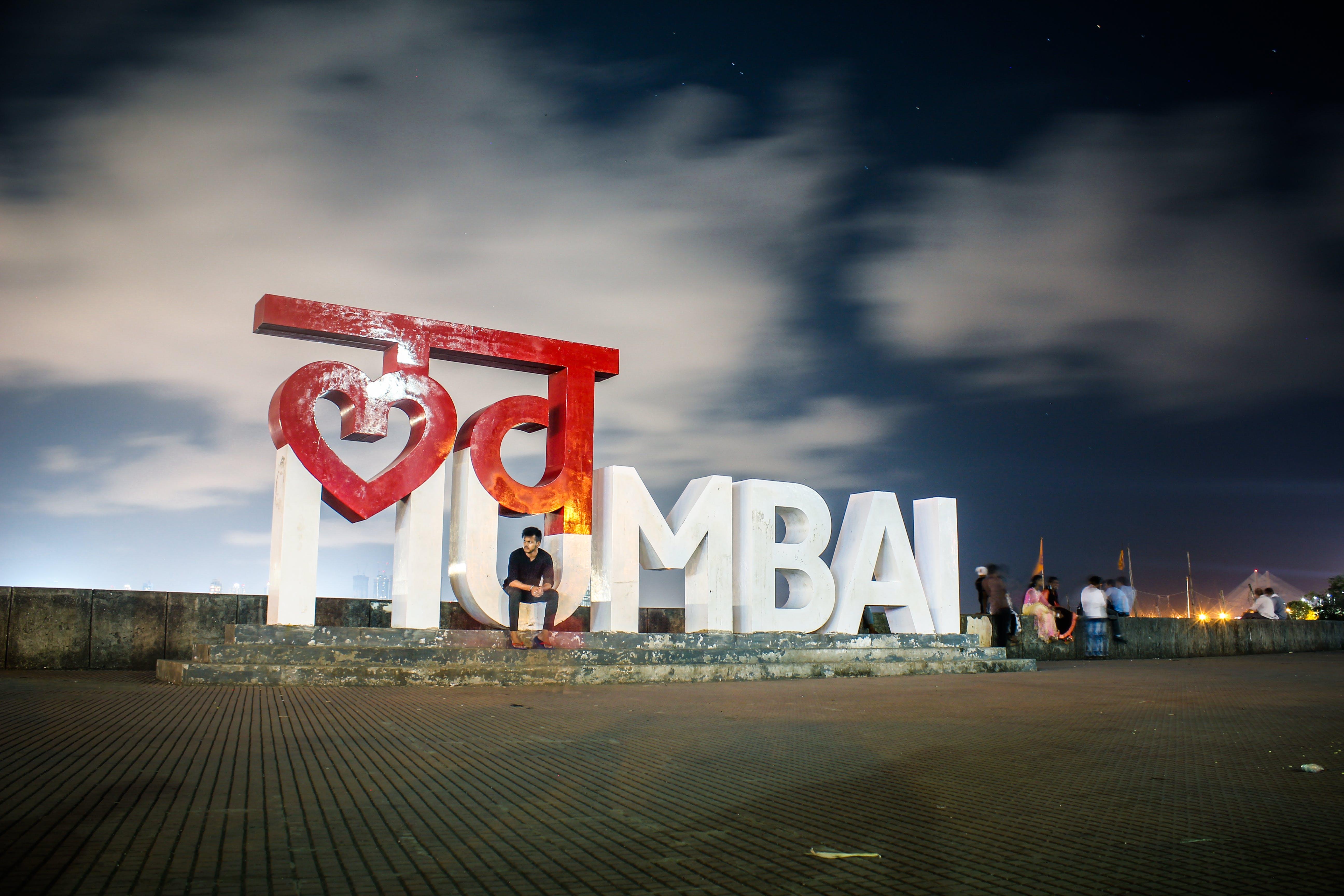 of knight, mumbai, night, oubleexposure
