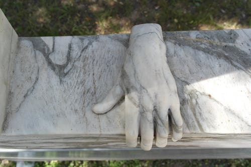 Free stock photo of hand, portugal, sculpture, sintra