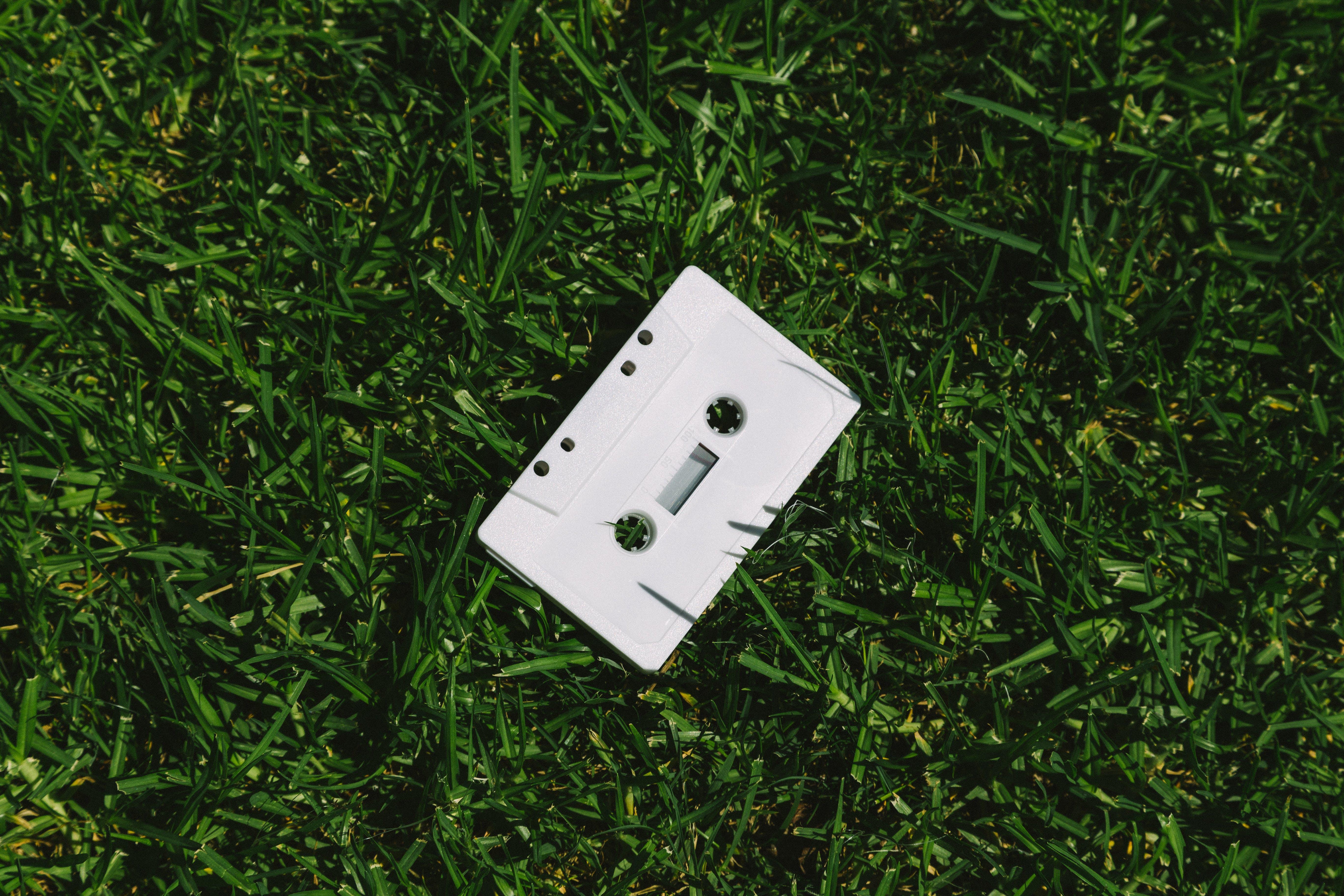 간, 오디오, 잔디, 카세트의 무료 스톡 사진