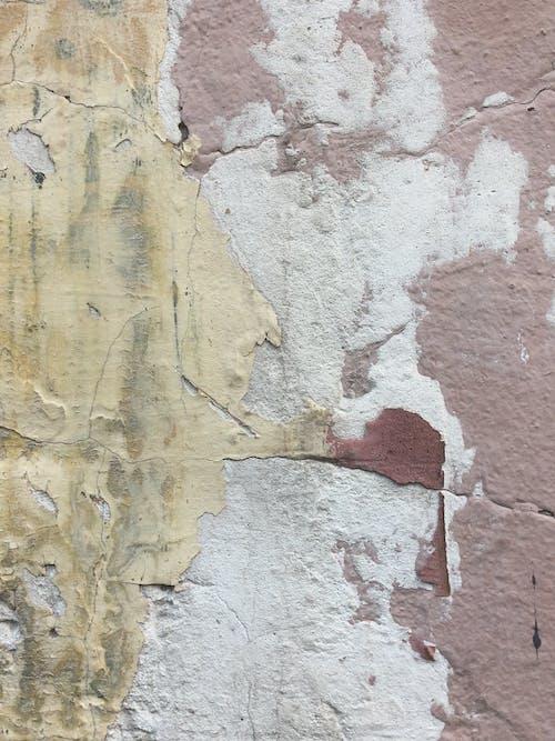 Бесплатное стоковое фото с алебастр, бетонная стена, гипс, грубый