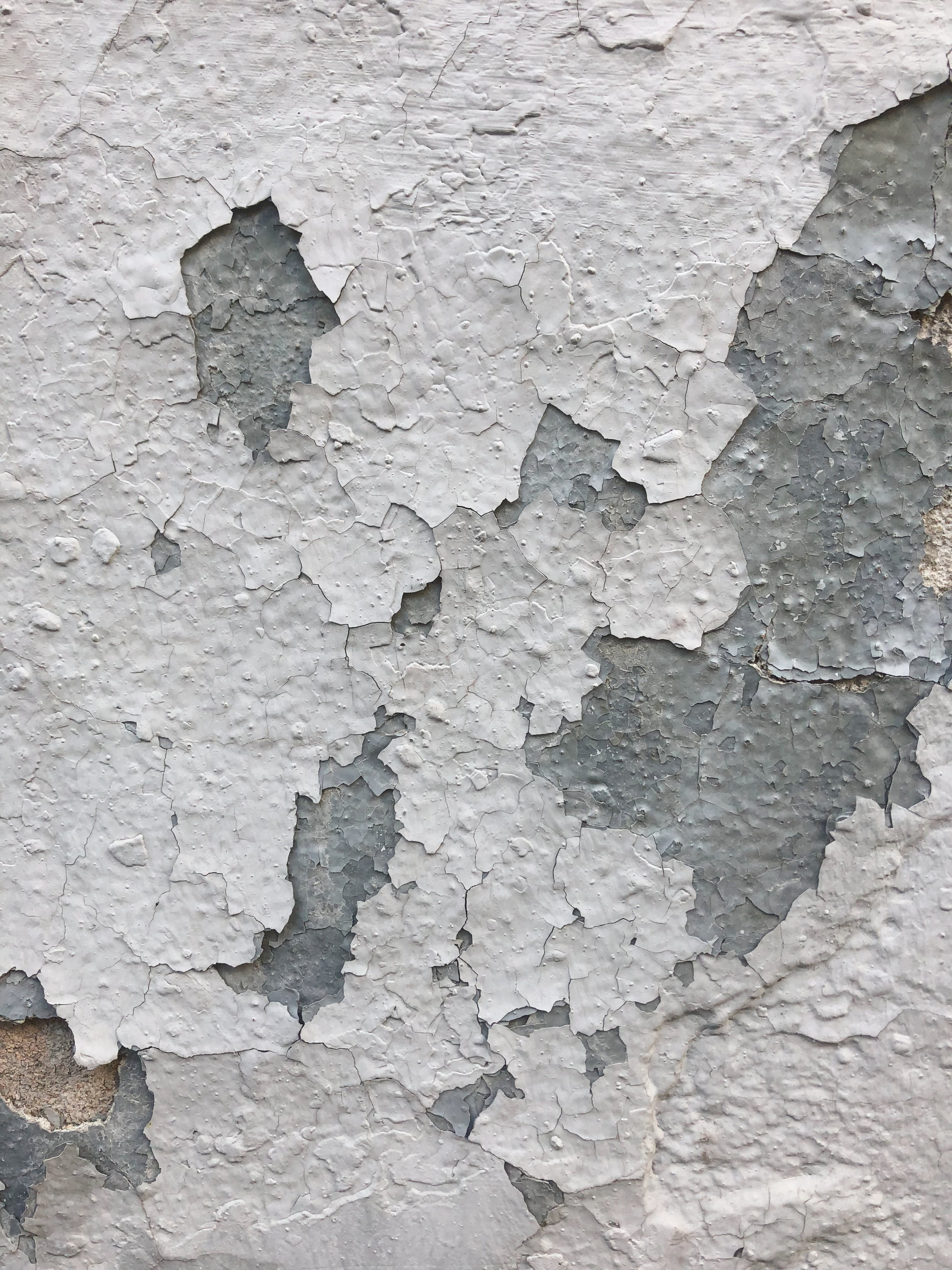 Faded White Painted Concrete Surface
