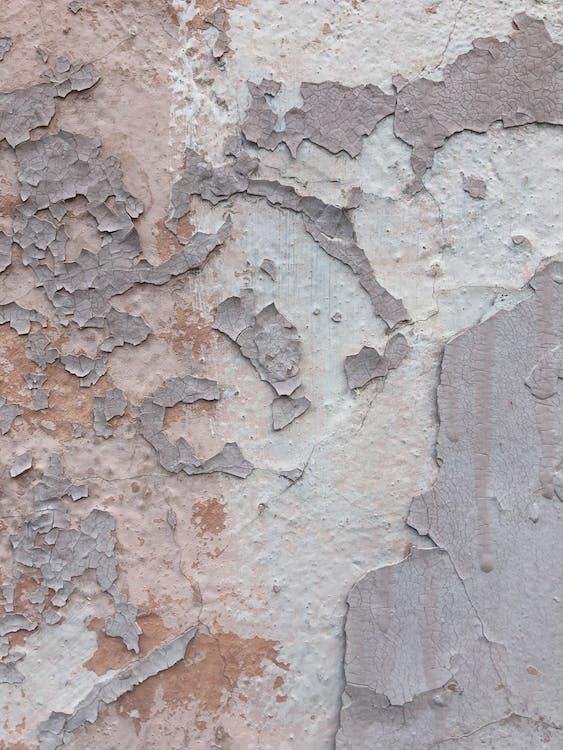 beton, dinding, kasar