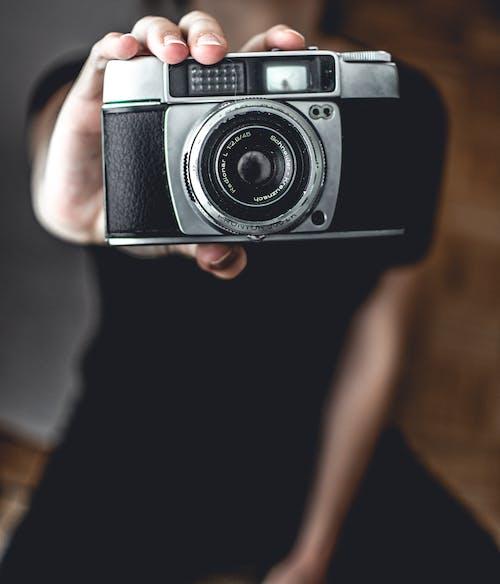 Gratis lagerfoto af antik, elektronik, kamera, klassisk