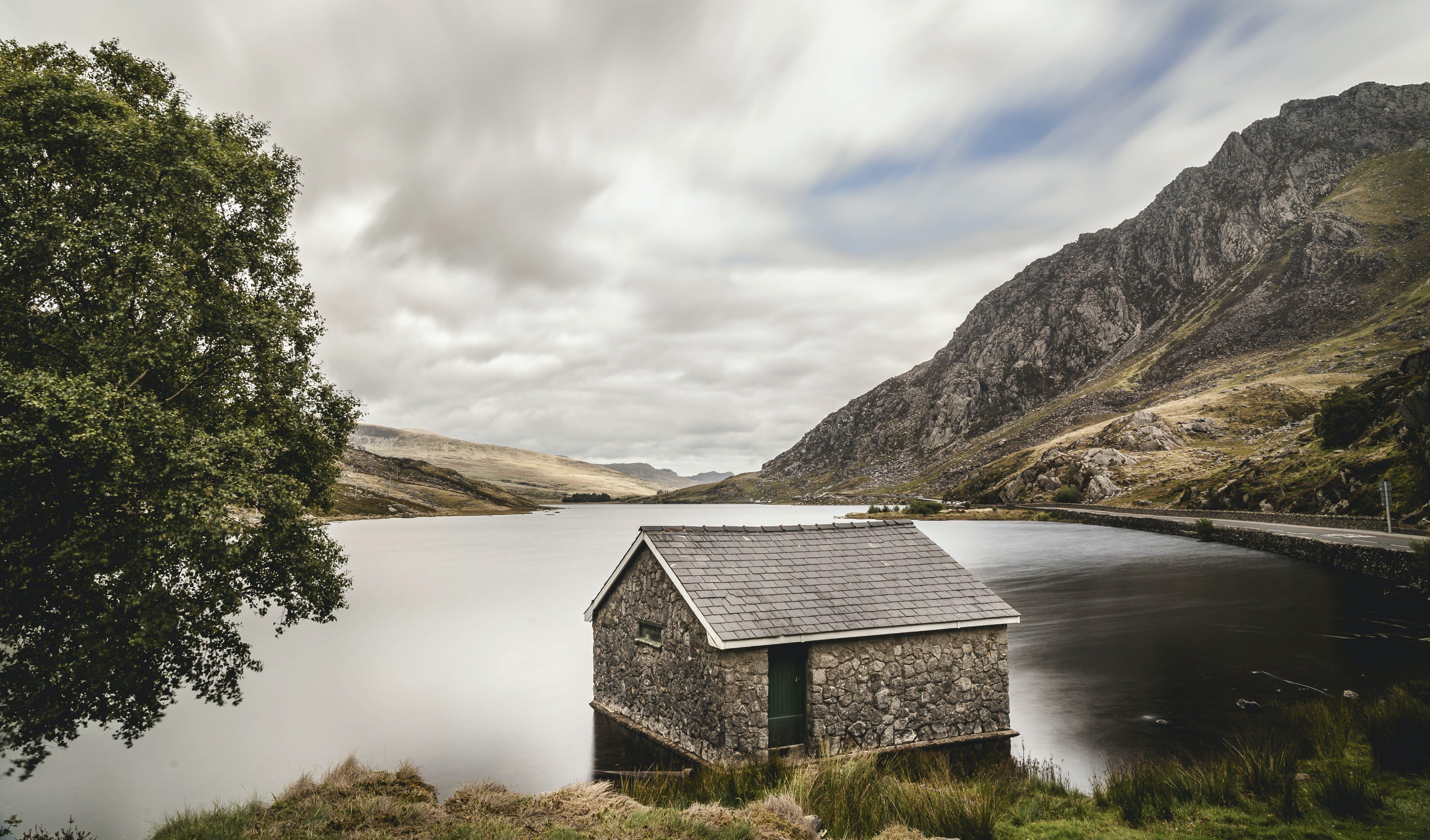 Cabin Near Calm Water