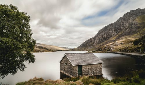 Foto d'estoc gratuïta de cel, graner, muntanya, Nord de Gal·les