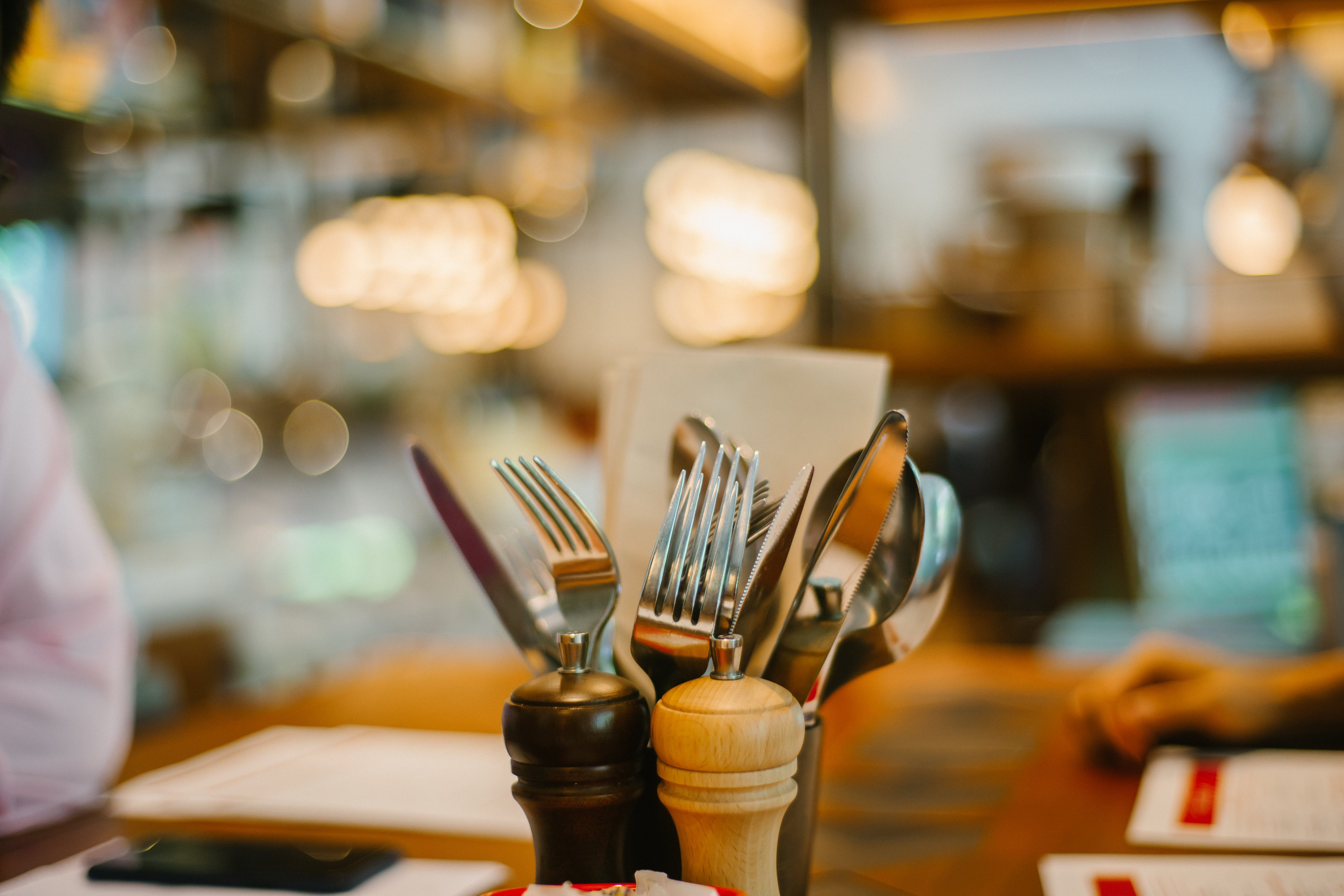 Selective Focus Photography Of Utensils On Table