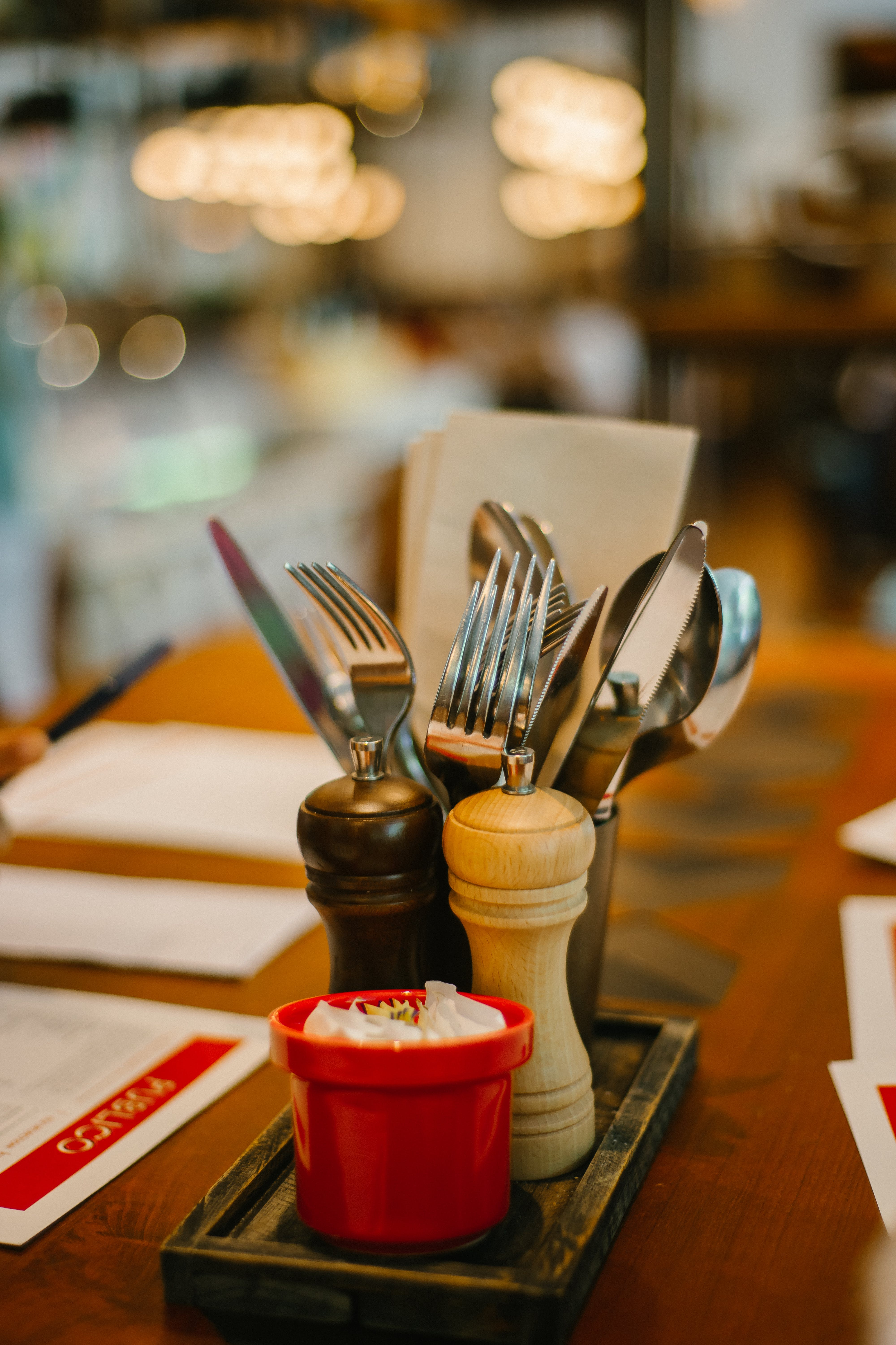 Shallow Focus Photography Of Flatware